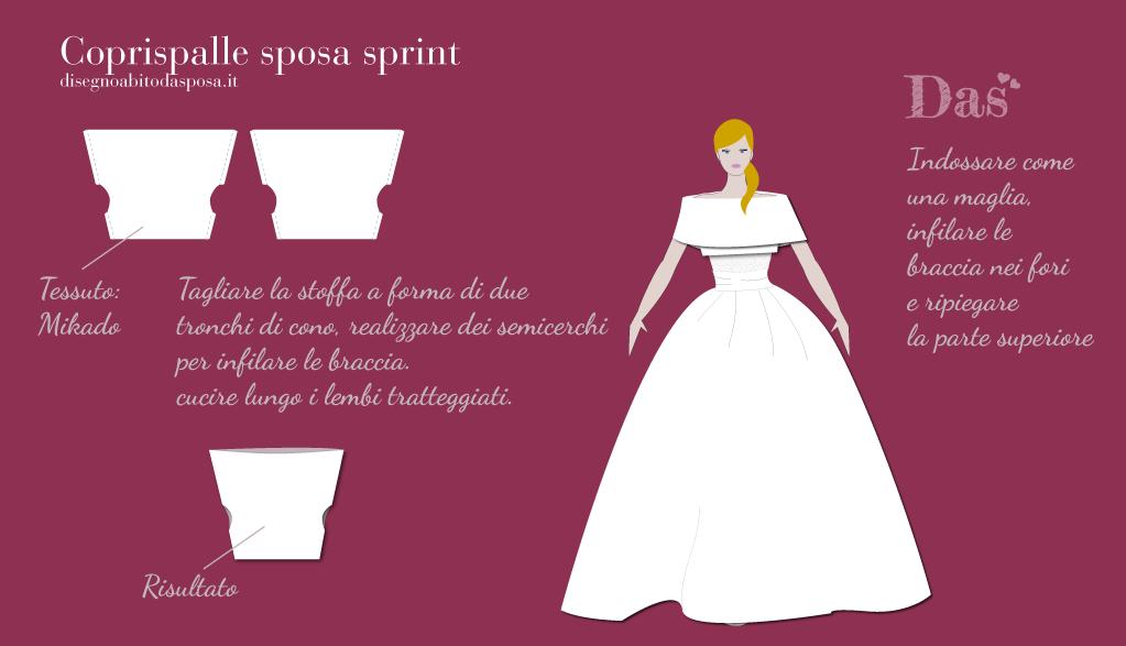 Coprispalle sposa Sprint