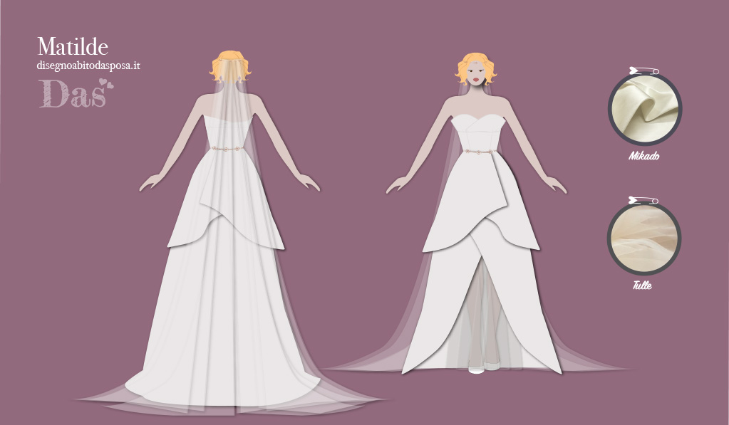 Matilde, un abito originale