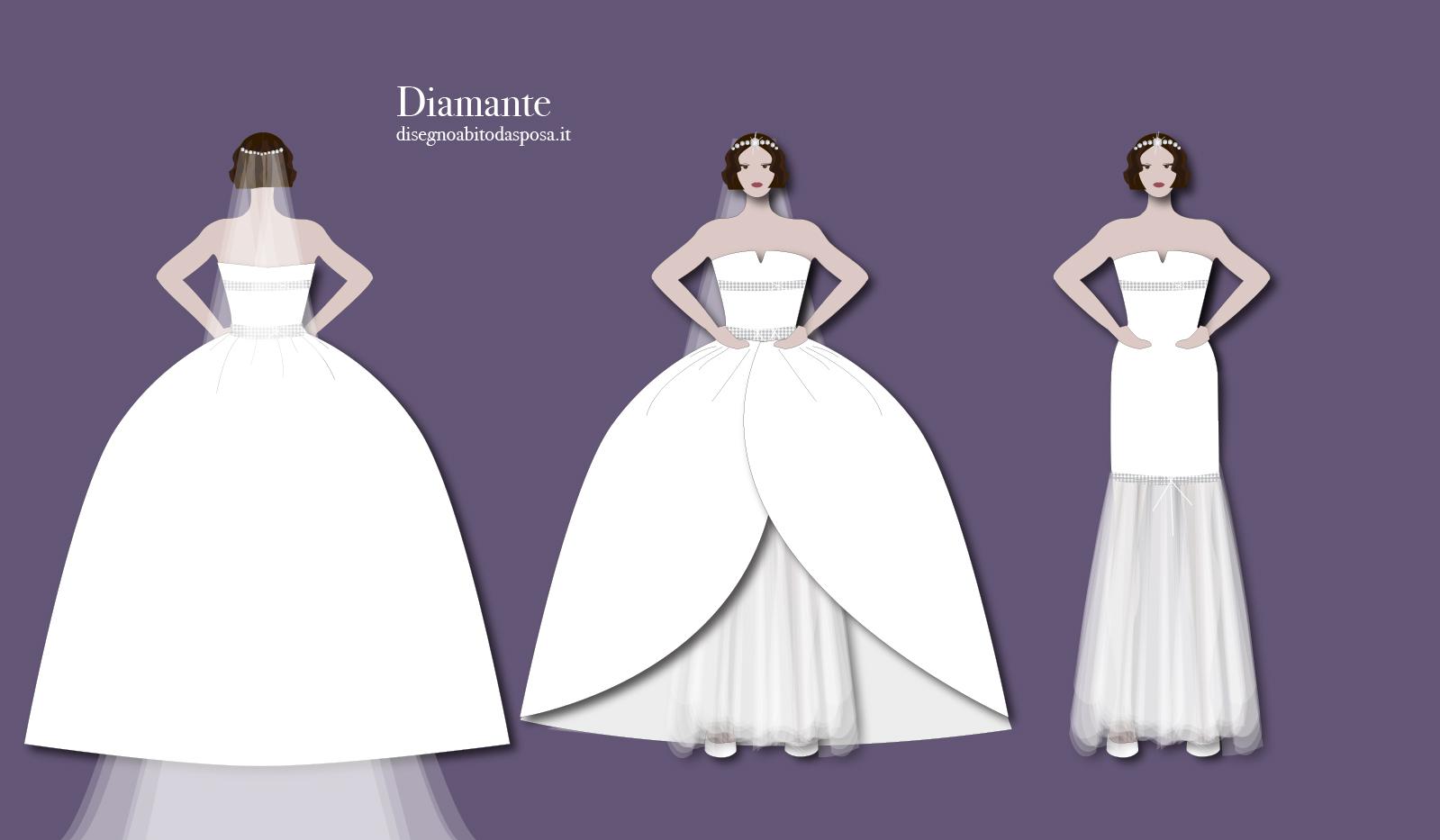 Abito da sposa Diamante