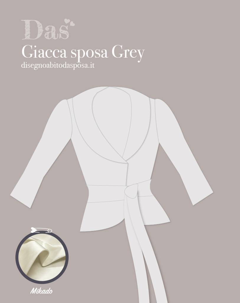 Grey, una giacca per la sposa