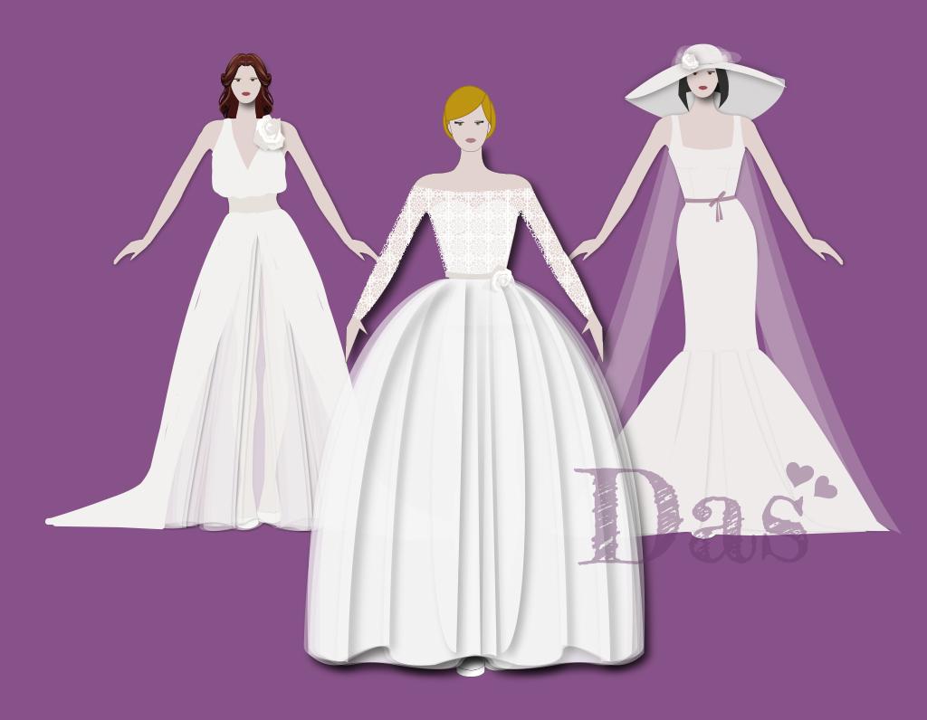 Vuoi un abito da sposa disegnato esclusivamente per te?