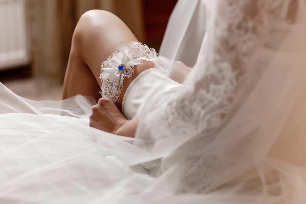 La giarrettiera, il regalo per la sposa